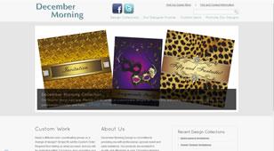 DecemberMorning.com - Wordpress With Zazzle Store Builder