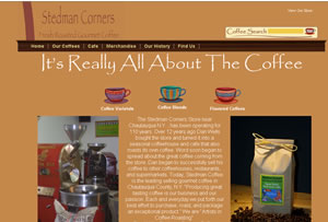 Stedman Coffee - Ecommerce Development